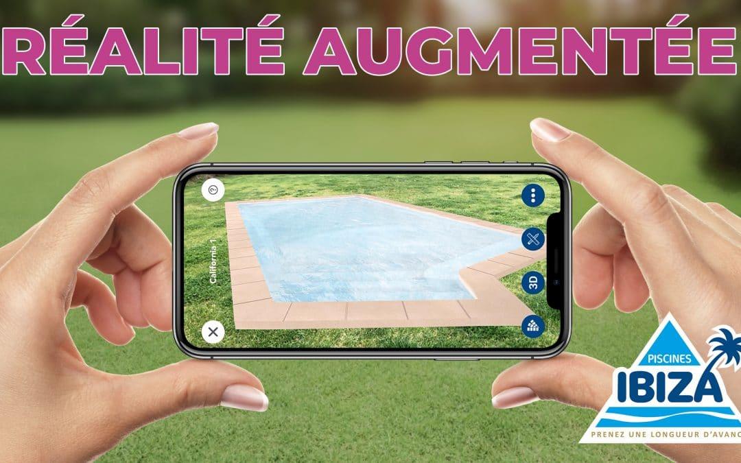 Application Réalité Augmentée Piscines Ibiza