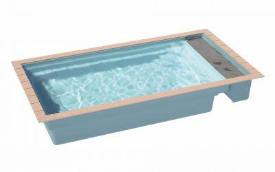 Piscines Ibiza présente son dernier modèle de bassin : l'ARIZONA