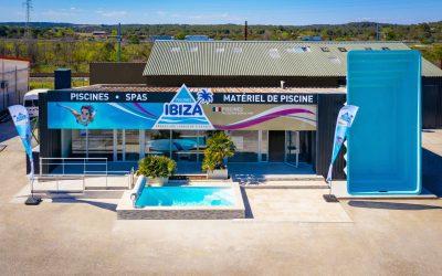 Nouveau concept magasin : ça démarre fort chez Piscines Ibiza !