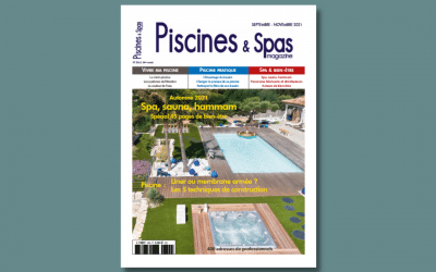 """Piscines & Spas magazine : les piscines et les spas Ibiza à l'honneur dans ce numéro """"spécial bien-être"""""""